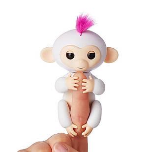 Интерактивная игрушка обезьянка Happy Monkey White
