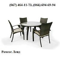 Комплект мебели Вирекс2 кор, мебель для бассейна, мебель для сауны, мебель для ресторана, для веранды