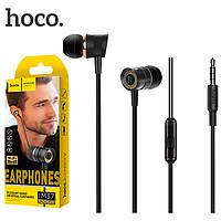 Наушники вакуумные HOCO M37 с микрофоном, фото 1
