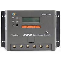 Контроллер заряда EPSOLAR PWM VS6024BN 60A 12/24V, фото 1