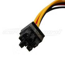 Кабель питания для видеокарт 6 pin PCI-E to Molex, 14 см, фото 3