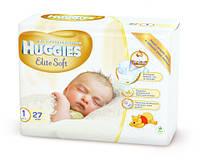 Подгузники Huggies Elite Soft для новорожденных -1 (27 шт.)