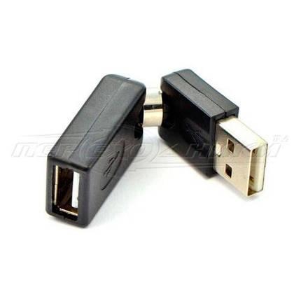 Переходник USB 2.0 AF - AM,  360 градусов, фото 2