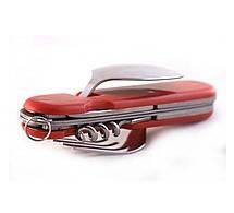 Туристичний набір 6в1 ложка вилка ніж