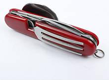 Туристичний набір 4в1 ложка вилка ніж
