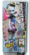 Monster High Party Ghouls Abbey Bominable Doll Кукла Монстер Хай Эбби Боминейбл Вечеринка монстров, фото 2