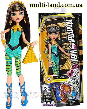 Лялька Монстр Хай Клео де Ніл Перший день у школі Monster High Signature Look Core Cleo De Nile Doll
