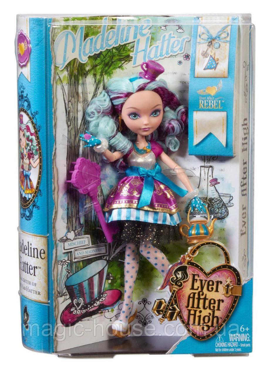 Меделин Хэттер базовая Первый выпуск Кукла Эвер Афтер хай Ever After High Madeline Hatter