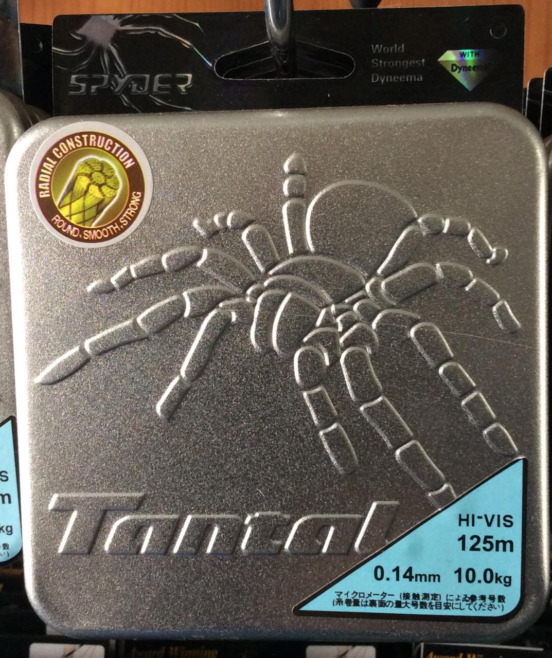 Шнур рыболовный DYNEEMA Spider от 0,12-0.50mm 125 м