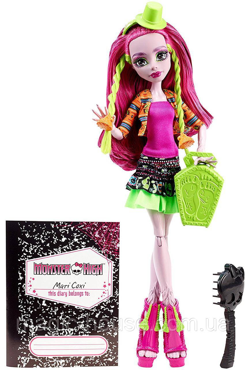 Кукла Монстер Хай  Марисоль Кокси Монстры по обмену Monster High Monster Exchange Program Marisol Coxi