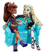 Игровой набор Коффин Бин Клодин Вульф Монстер ХайCoffin Bean and Clawdeen Wolf DollMonster High, фото 5