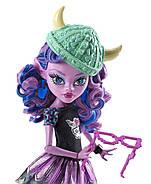 КуклаМонстер Хай Кьерсти Троллсен Монстры по обменуKjersti TrollsonBrand-Boo StudentsMonster High, фото 3