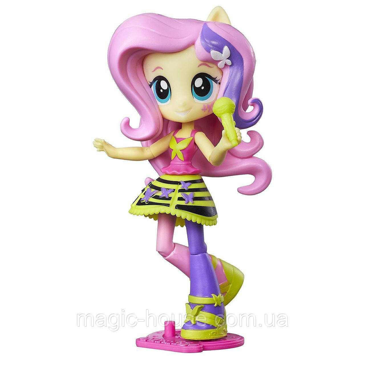 My Little Pony мини  Флатершай  Радужный рок Equestria Girls Minis Rockin Fluttershy
