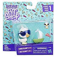 Littlest Pet ShopДомашние животные Пеликан Бланчи ДейзиЛител пет шоп Pet Pair (pelicans), фото 2