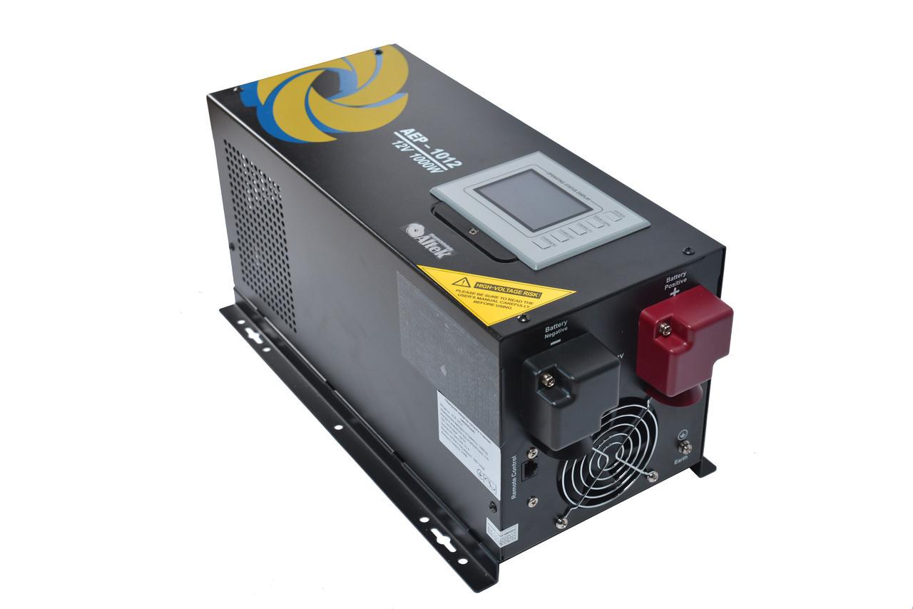 Инвертор с функцией ИБП, AEP-1024, 1000W/12A