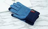 Перчатки мужские для сенсорных экранов Gloves Sport Touch blue, фото 5