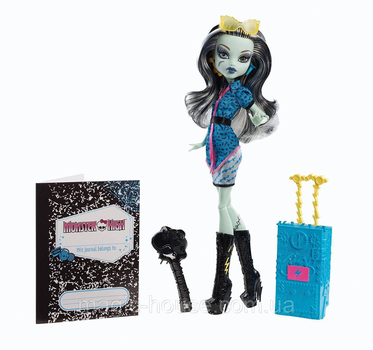 Кукла Фрэнки ШтейнПутешествие вСкариж Monster HighTravel Scaris Frankie Stein