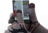 Перчатки утепленные для сенсорных экранов Brumal gray, фото 3