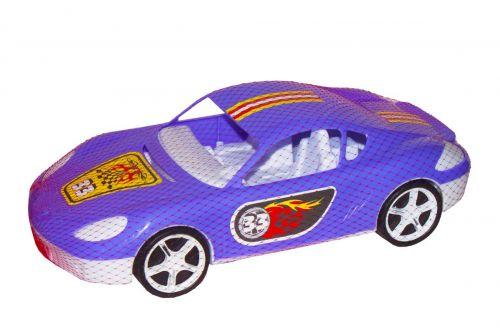 Машина спортивная с наклейками (фиолетовая) KW-07-702-1N