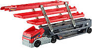 Hot WheelsМега грузовик для 50 машинок  Трейлер автовоз Mega Hauler Truck, фото 3