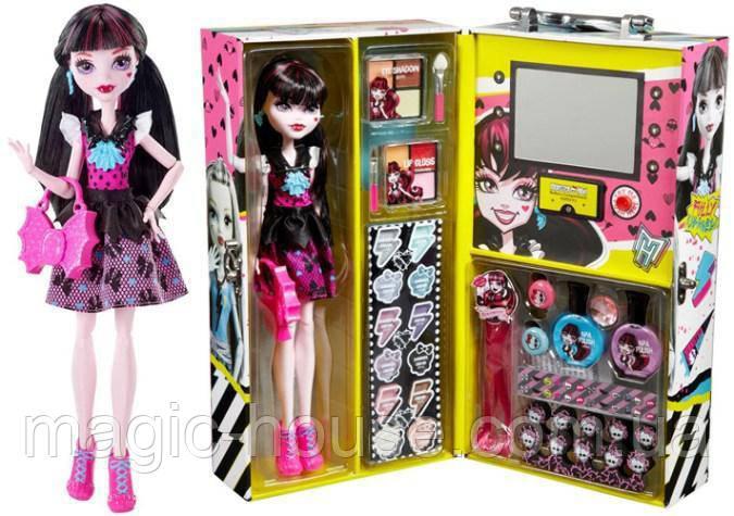 "МодныйКейсMonster High икукла Дракулаура Fashion Doll Case "" Draculaura"""