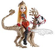 Набор Ever After High Эппл Уайт и дракон Брэбёрн Dragon Games Apple White Doll and Braebyrn Dragon, фото 2