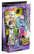 Набор кукол Monster HighЛагуна Блю и сестра Келпи Блю Monster Family Lagoona Blue and Kelpie Blue, фото 3