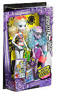 Набор кукол Monster HighЛагуна Блю и сестра Келпи Блю Monster Family Lagoona Blue and Kelpie Blue, фото 2