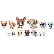 Игровой набор Littlest Pet Shop Маленький зоомагазин 13 зверюшек  Призрачные приятели  Mischief Pals, фото 2