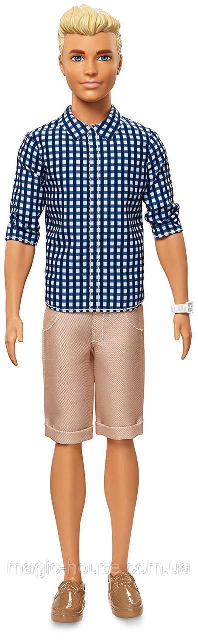 Кукла Barbie Кен Модник Ken Fashionistas Preppy Check