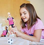 КуклаBarbie Футболистка Безграничные движения Made to Move Soccer Player, фото 2