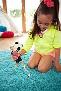 КуклаBarbie Футболистка Безграничные движения Made to Move Soccer Player, фото 5