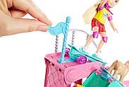 Набор Barbie кукла Челси и собачка в скейт-парке, фото 5