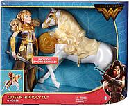 КуклаBarbieЧудо женщина Королева Ипполита и лошадьDC Wonder Woman Queen Hippolyta Doll & Horse, фото 5
