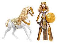 КуклаBarbieЧудо женщина Королева Ипполита и лошадьDC Wonder Woman Queen Hippolyta Doll & Horse, фото 6