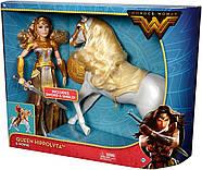 КуклаBarbieЧудо женщина Королева Ипполита и лошадьDC Wonder Woman Queen Hippolyta Doll & Horse, фото 7