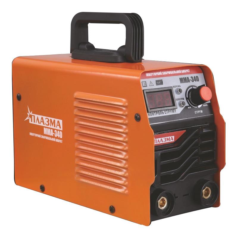 Зварювальний апарат Плазма MMA-340 (дисплей)