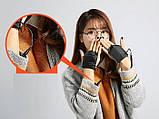 Перчатки с подогревом от USB Touch Screen Sungloves black, фото 5