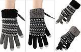 Перчатки с подогревом от USB Touch Screen Sungloves black, фото 6