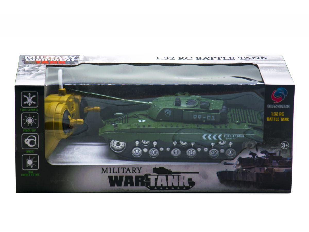 Танк на р/у Battle Tank (хаки)
