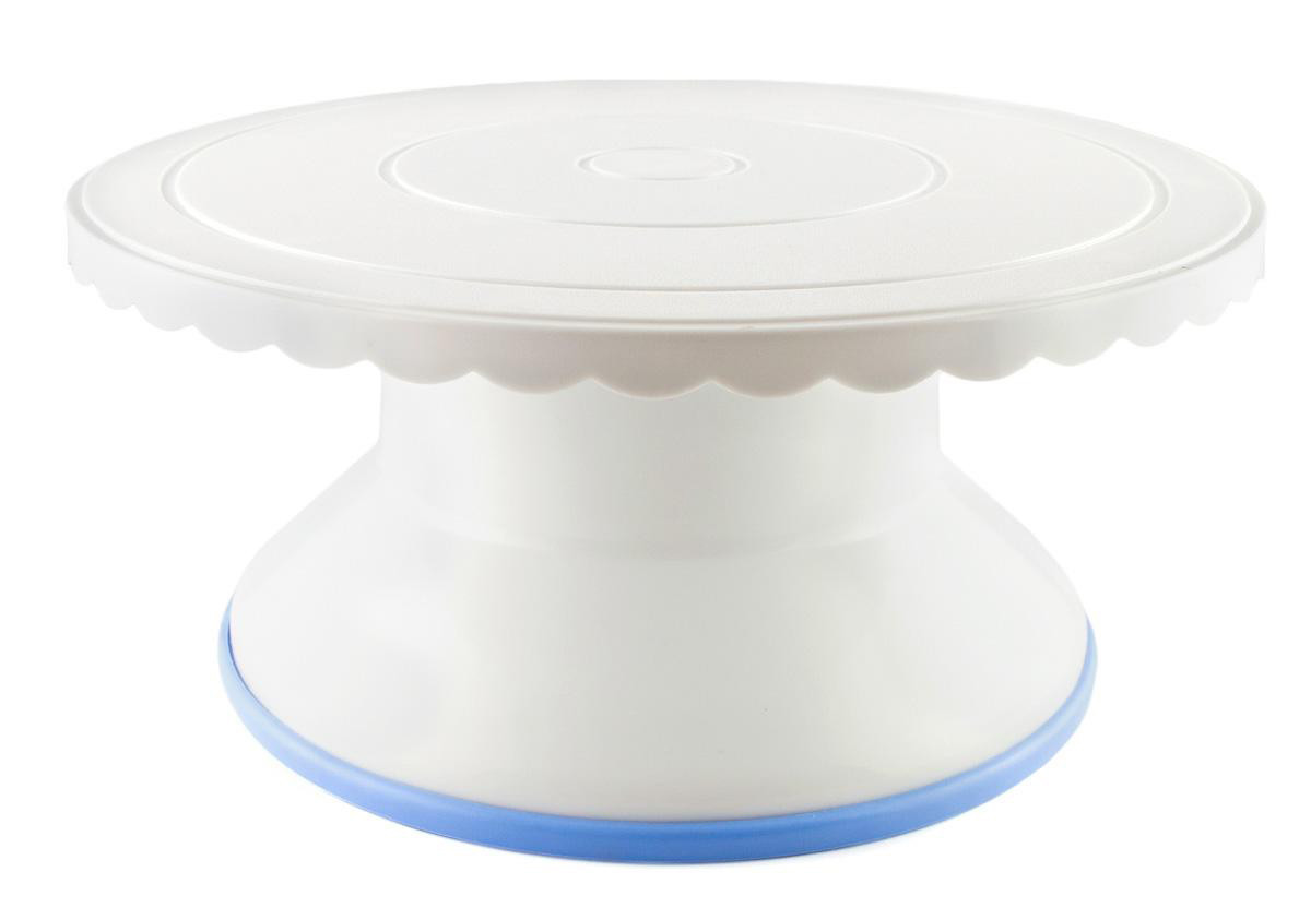 Стойка для торта вращающаяся пластик 4,6 см