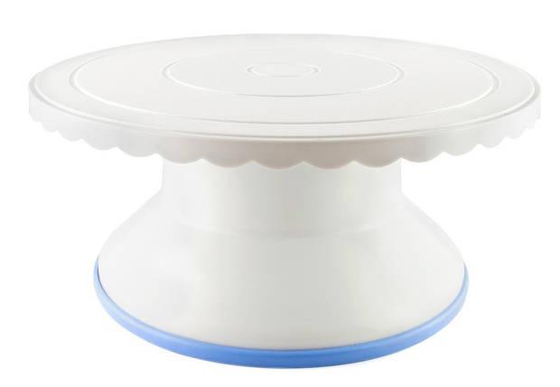 Стойка для торта вращающаяся пластик 4,6 см, фото 2