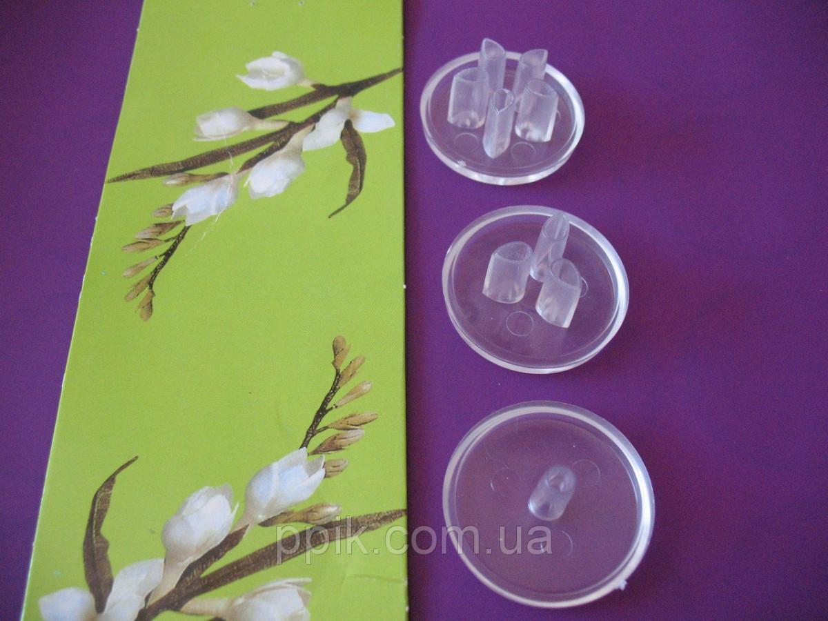 Набор вырубок для рюшей на мастике Майский цветок (дырокол перфоратор)