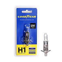 GOODYEAR Лампа автомобильная галогенная H1 12V 55W P14.5s (блистер)