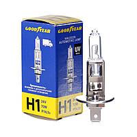 GOODYEAR Лампа автомобільна галогенова H1 24V 70W P14.5s, фото 1
