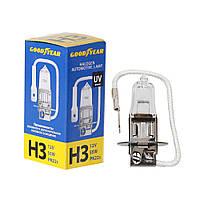 GOODYEAR Лампа автомобильная галогенная H3 12V 55W PK22s, фото 1