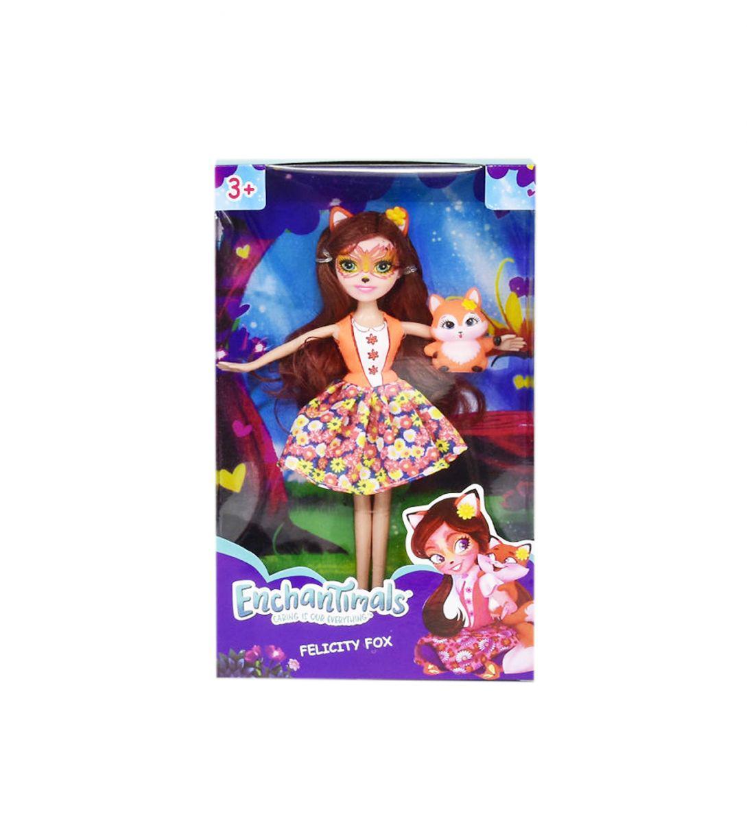 """Лялька з вихованцем """"Enchantimals"""" Felicity Fox і її лисеня Flick"""