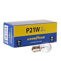 GOODYEAR Лампа накаливания автомобильная P21W 12V 21W BA15s (коробка: 10 шт.), фото 1