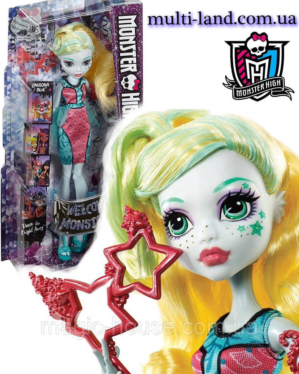 Лагуна Блю Кукла Монстер Хай серии Школа Монстров Танец без страха, Monster High Dance The Fright Away Lagoona