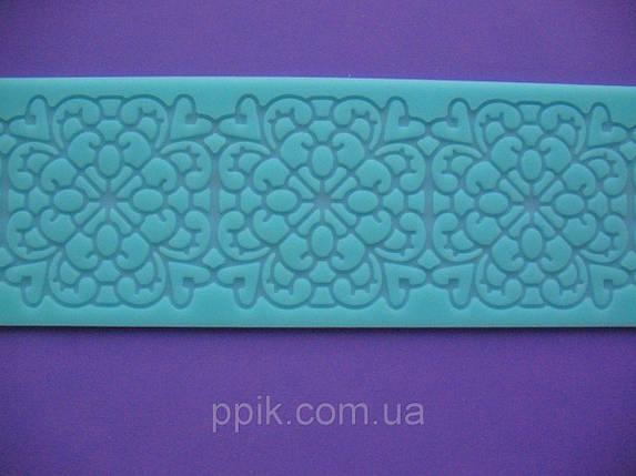 Коврик кондитерский силиконовый для айсинга Калейдоскоп, фото 2